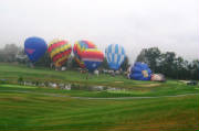 Rained out baloon launch